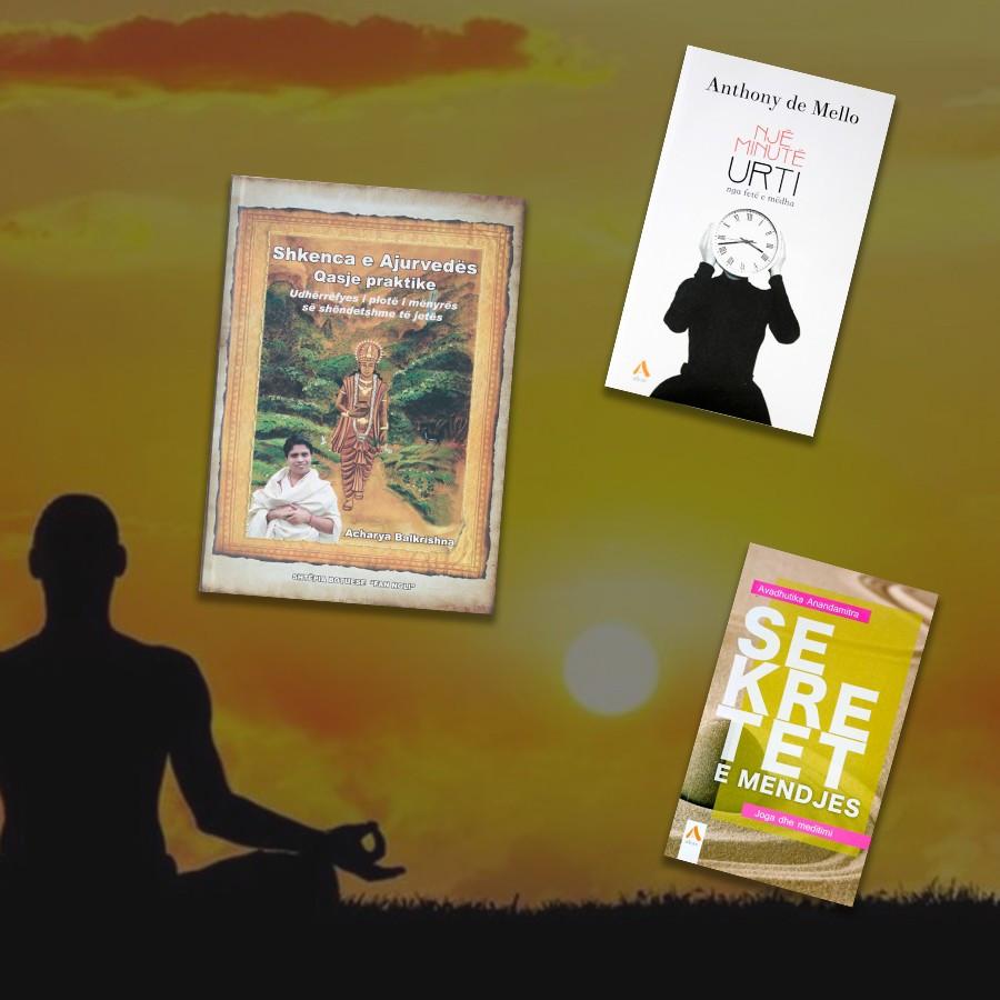Librat baze per mendjet e medituara – set 3 libra